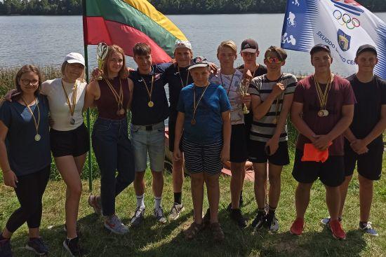 Plungės SRC irkluotojai iš Skuodo grįžo su medaliais