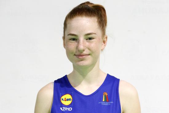 Gabija Burneikaitė pakviesta į Lietuvos U14 merginų krepšinio rinktinę