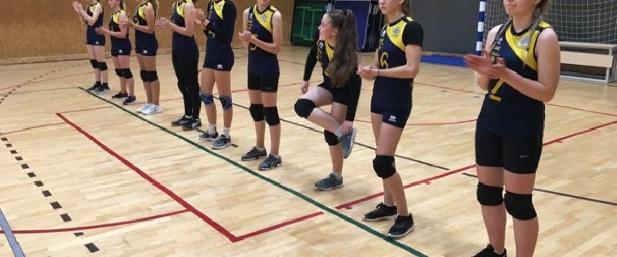 Plungės SRC merginų startas tinklinio čempionate