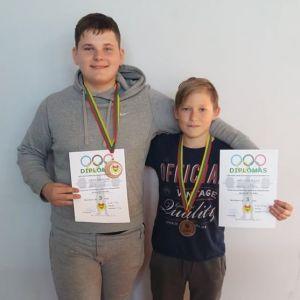 Šalies jaunių čempionate - du bronzos medaliai